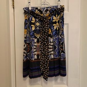 NWT Loft Floral Skirt